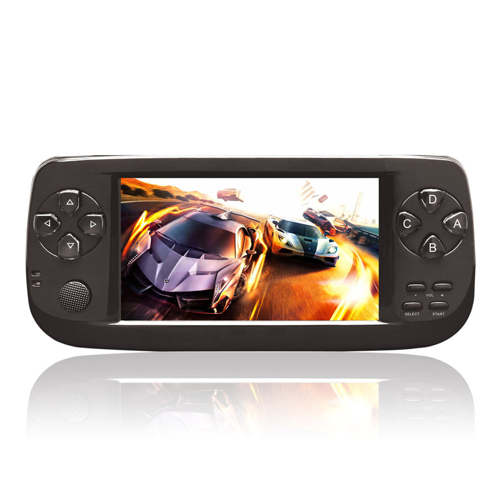 PAP K3 Handheld  Game Console Child Game Console with 64bit 16G Memory black