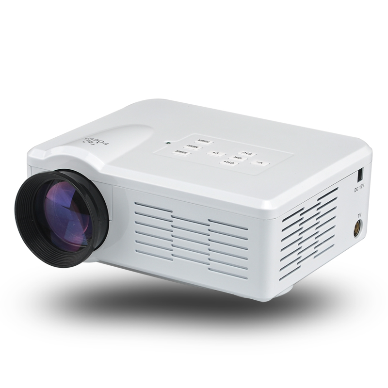 80 Lumen Mini LED Projector (White)