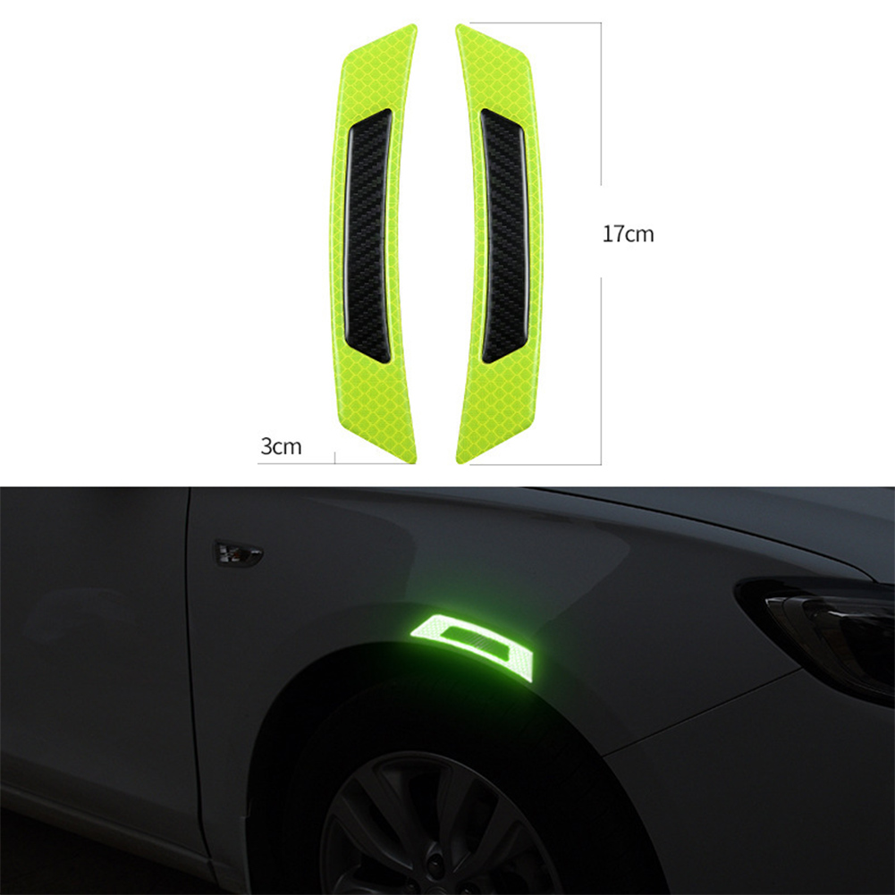 Car Reflective Carbon Fiber Stickers
