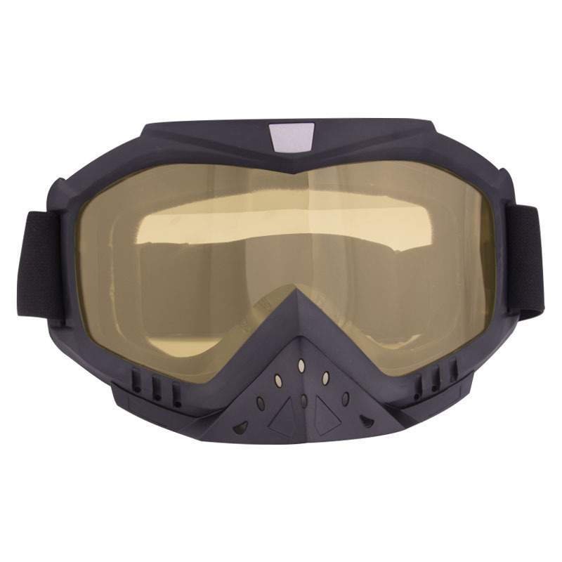 Ski goggles Gears Flexible Helmet Face Mask Motocross Goggles ATV Dirt Bike UTV Eyewear Gear Glasses
