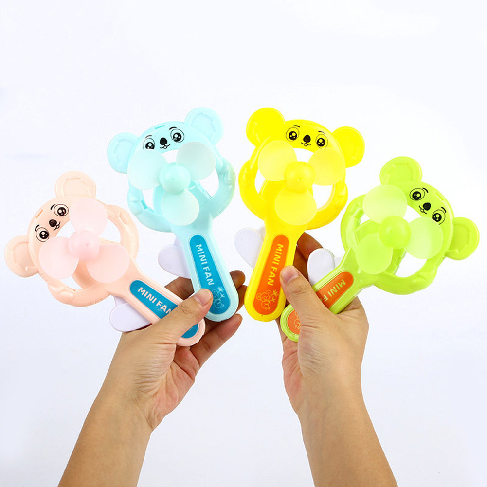Portable Handhold Mini Fan with Cartoon Shape for Student 37A Koala_One size