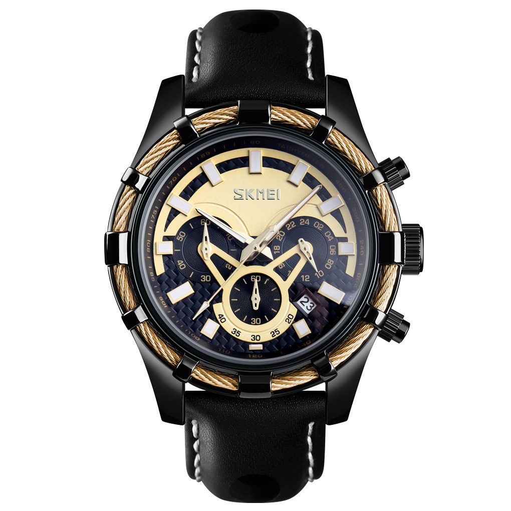 SKMEI Fashion Sport Watch Men - Black