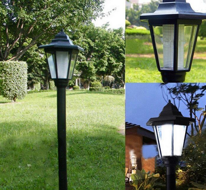 Urparcel Outdoor Solar Power Rechargeable LED Pathway Light Wall Landscape Mount Garden Fence Lamp Light