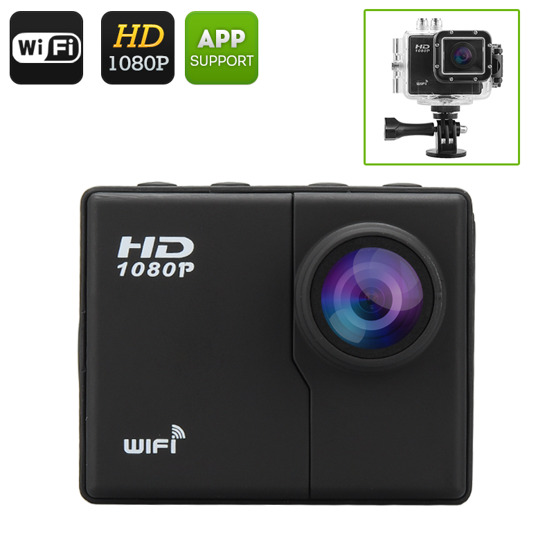 16MP WiFi Action Camera