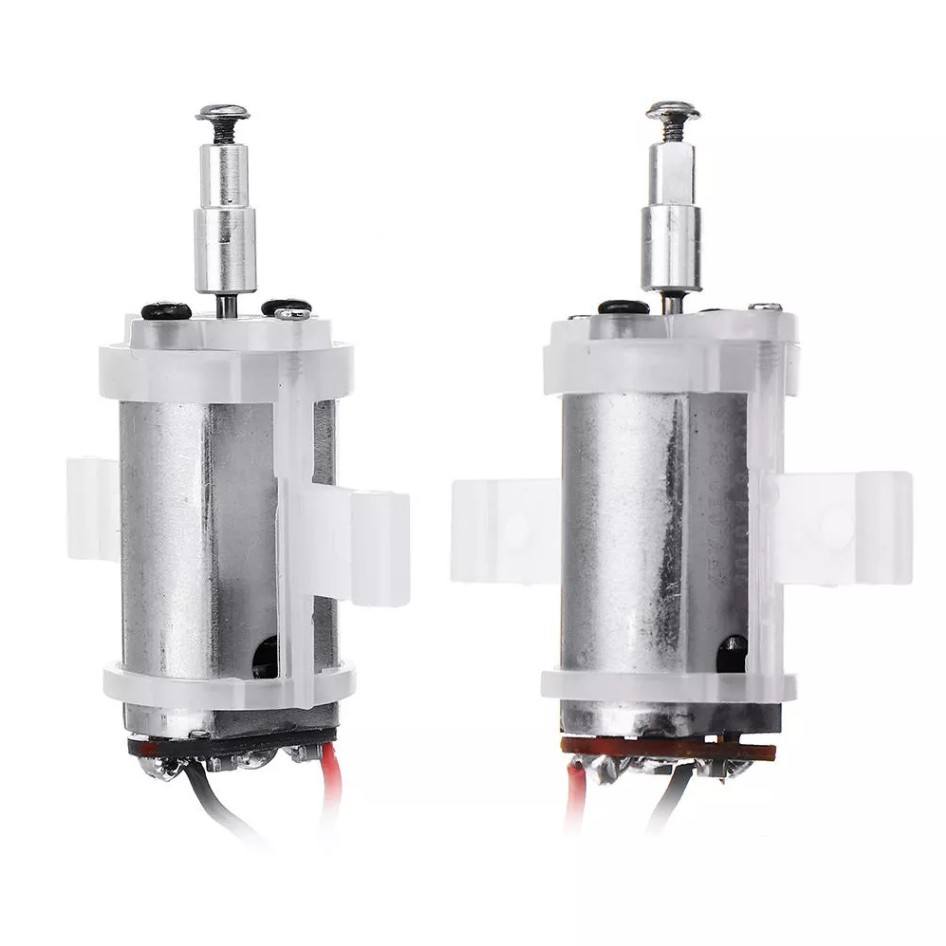 XK X420 420mm 3D6G VTOL FPV RC Airplane Spare Part 6V 20000rpm 2P 155mm CW&CCW Brushed Motor 1 Pair Silver