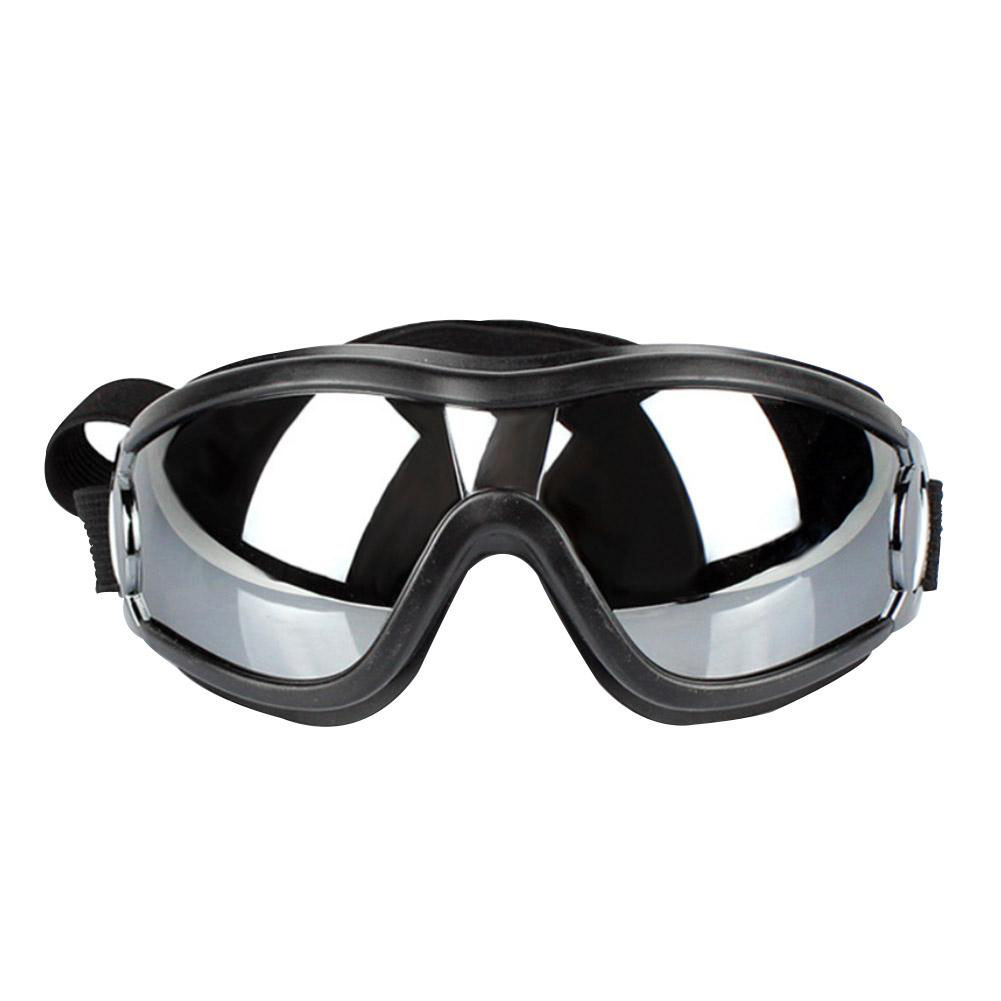 Pet Dog Goggle Waterproof Ultraviolet-proof Protective Glasses Eye Protector Pet Accessories black_free size (for large dog)