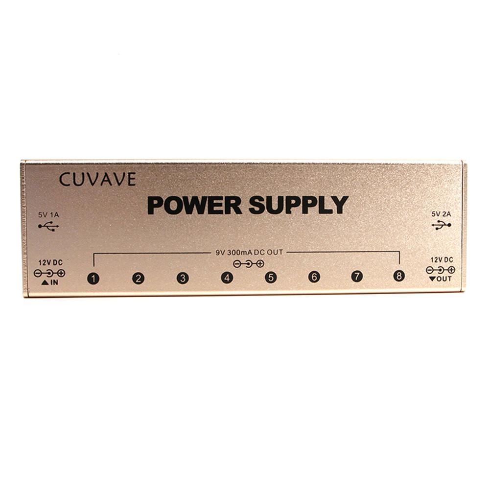 Guitar Multi Power #9 Effect Power Supply Gold