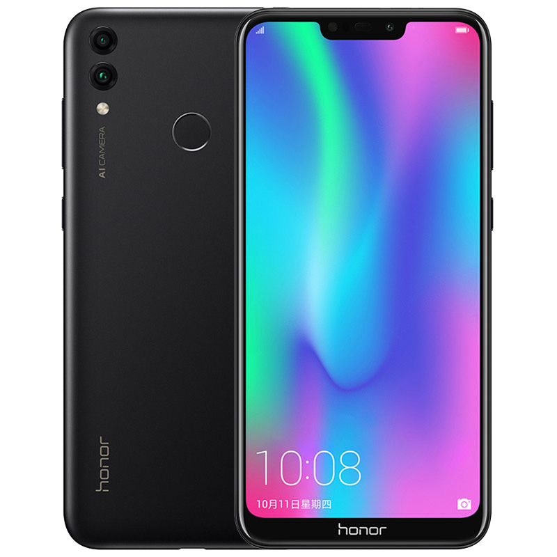 Huawei Honor 8C 4+32GB 3-Slot Face ID 6.26 Inch Snapdragon 632 Octa Core Front 8.0MP Dual Rear Camera 4000mAh Black_4+32G