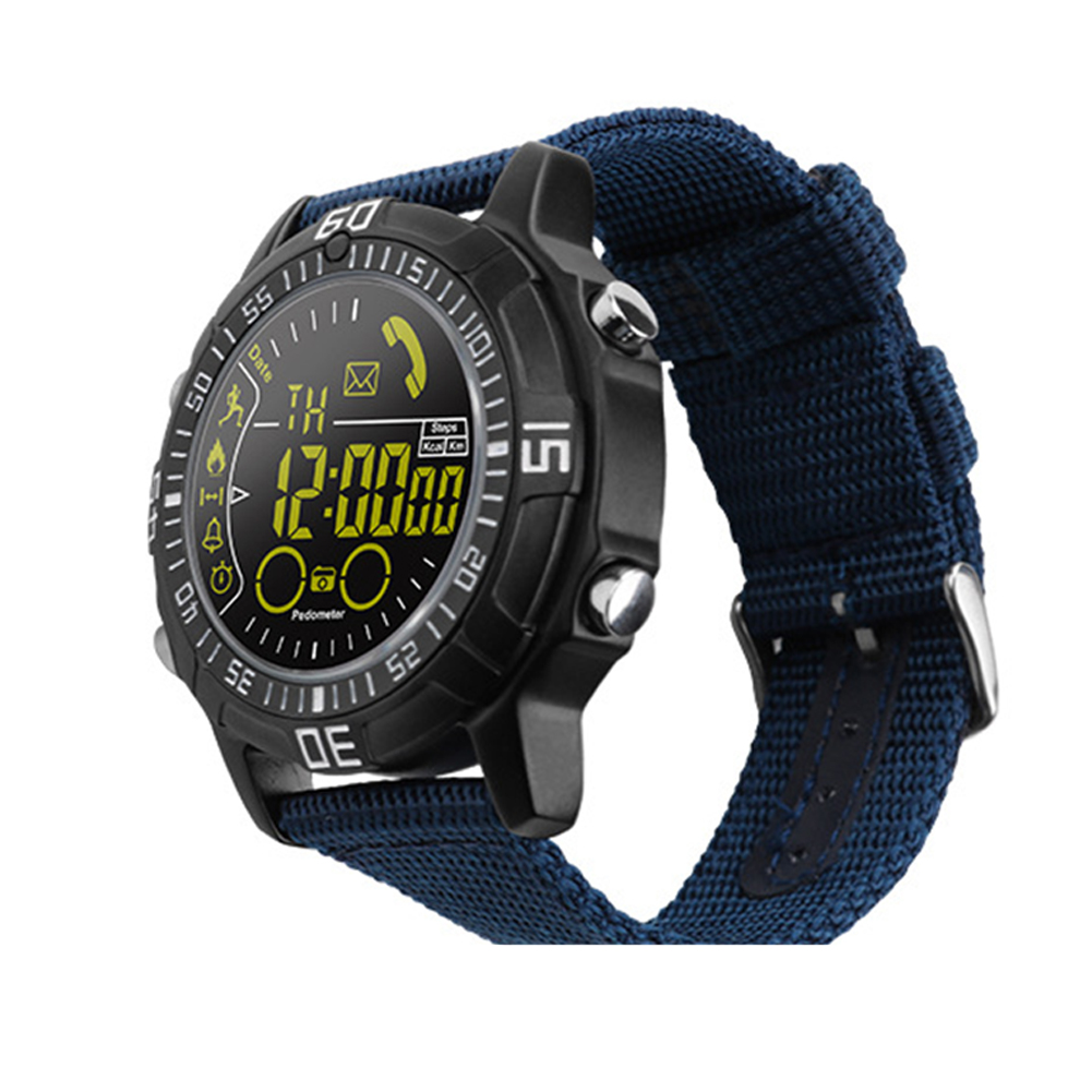 Smart Watch Heart Rate Test Blue