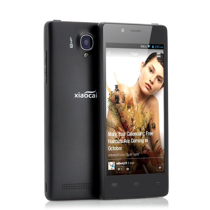 4.5 Inch Thin Android Phone - Xiao Cai X9 (B)