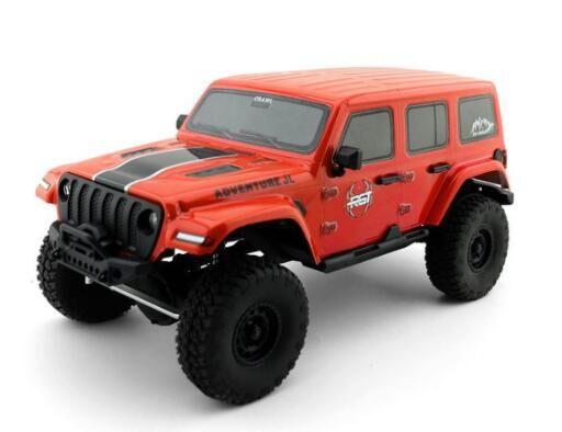 1:16 4wd Rc Car Metal Gear Off Road Truck Rc Rock Crawler 136161jl Climbing  Car Red