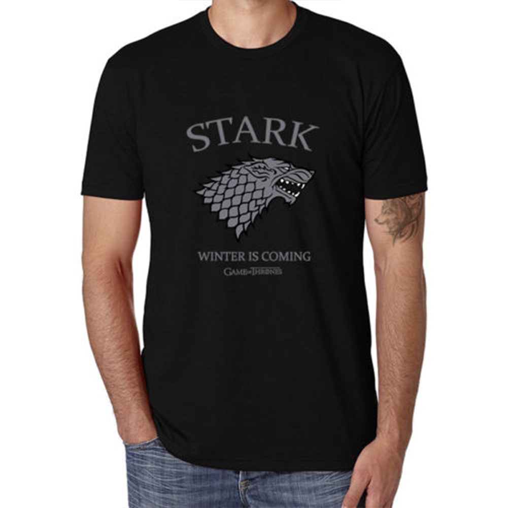 Men Women Summer Game of Thrones 3D Printed Short Sleeve T-Shirt