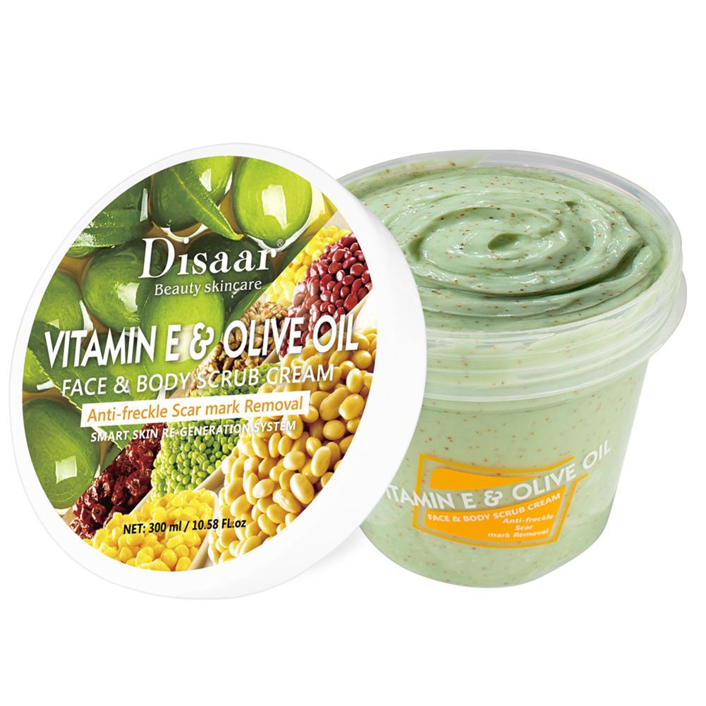 300ml Body Scrub Compound Olive Oil Ve Moisturizing Hydrating Body Scrub 300ml