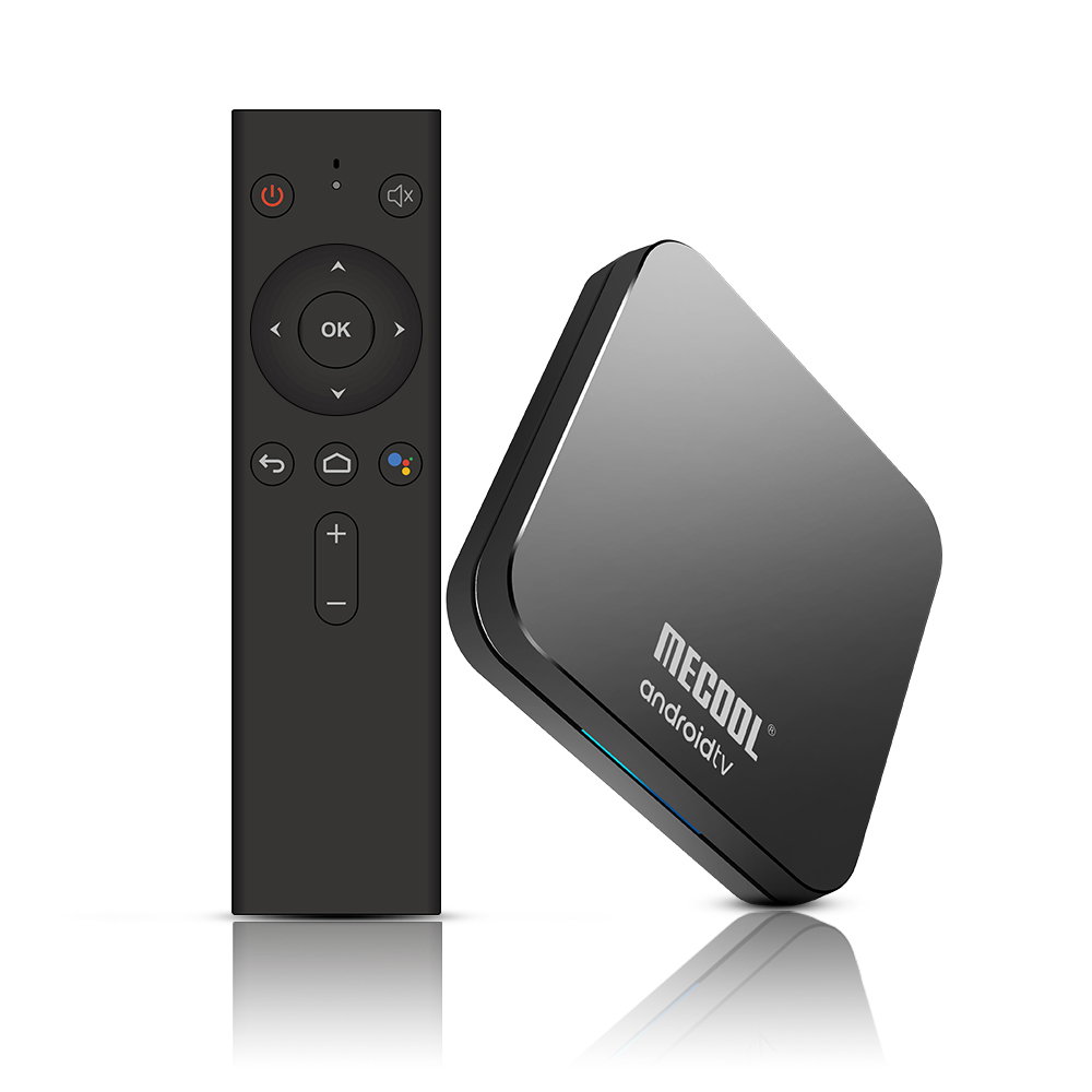 MECOOL KM9 Pro Voice Control TV Box - UK Plug