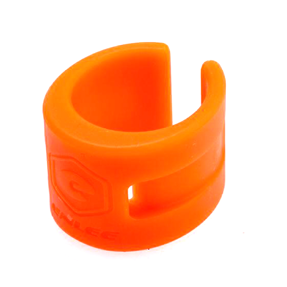 Road Bbike Mountain Bike Bicycle Front Rear Fork Cover Protection Rubber Anti Scratch Chain Guard Parts Orange