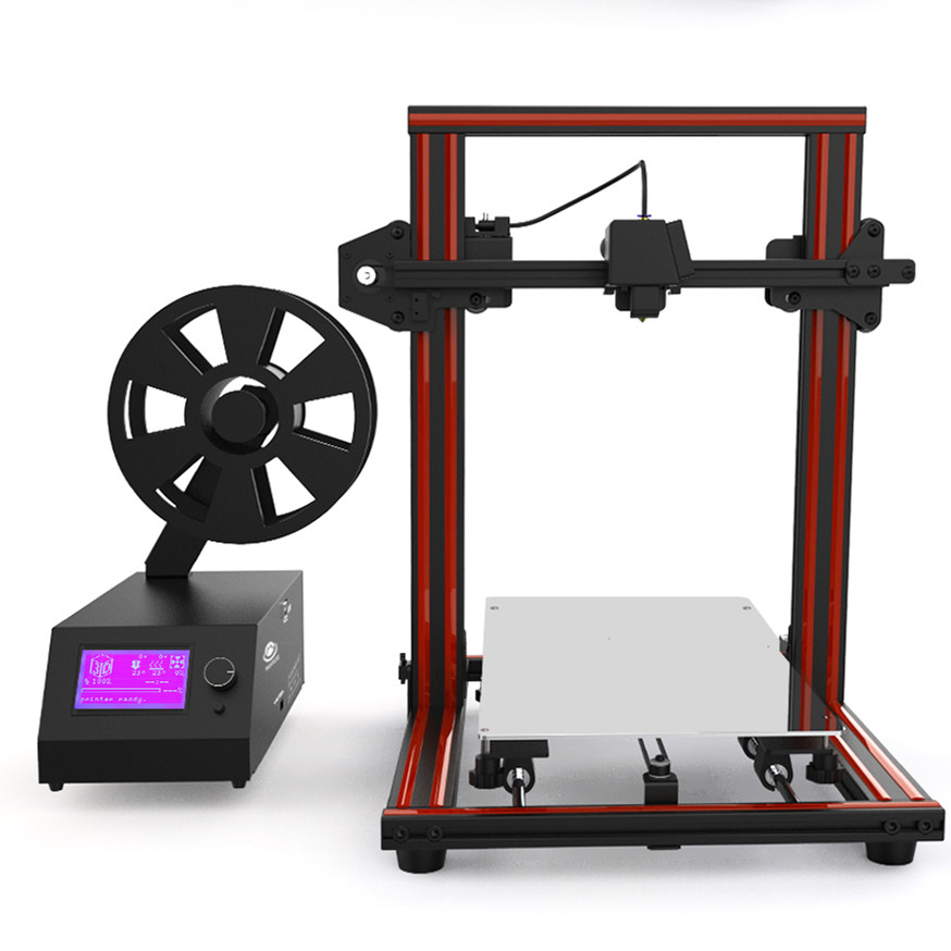 HUAXU X1 3D Printer-Red