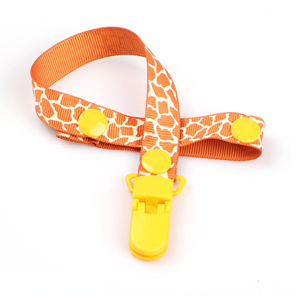 1PCS Baby Pacifier Chain Nipple Clip Anti-lost Anti-drop Belt  D