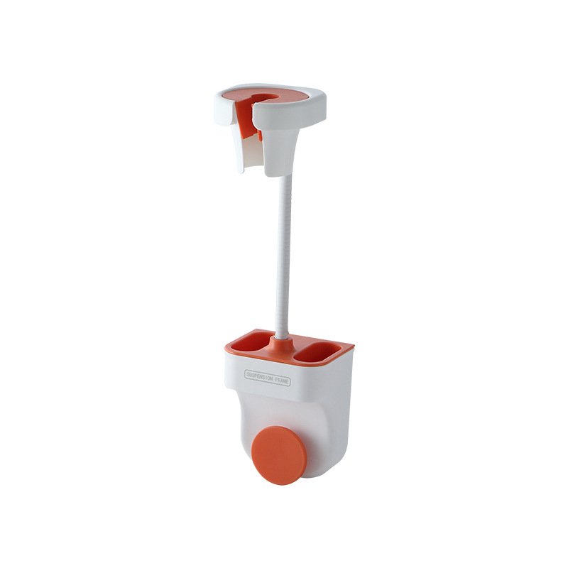 Punch-free Universal Shower  Bracket Adjustable Shower Holder Bathroom Accessories Shower bracket Nordic orange