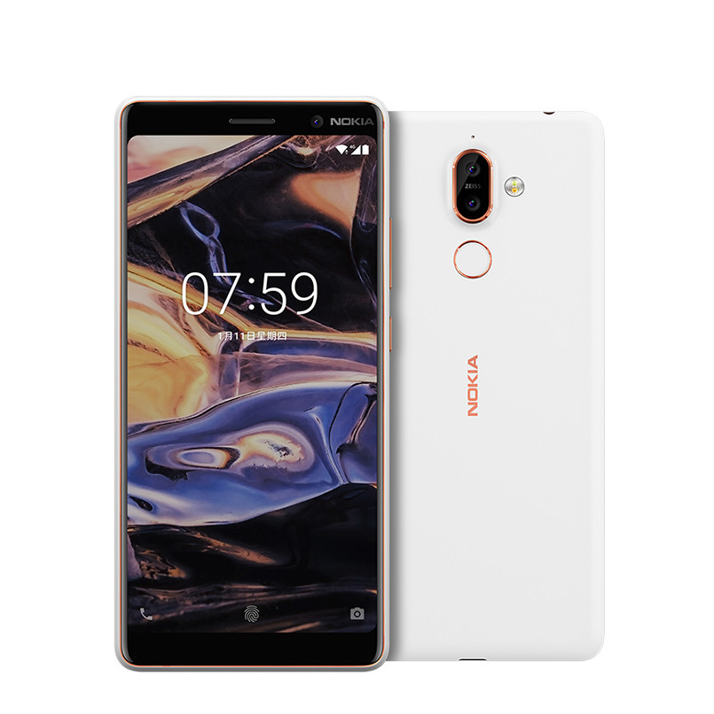 Nokia 7 Plus Smartphone 6GB+64GB - White