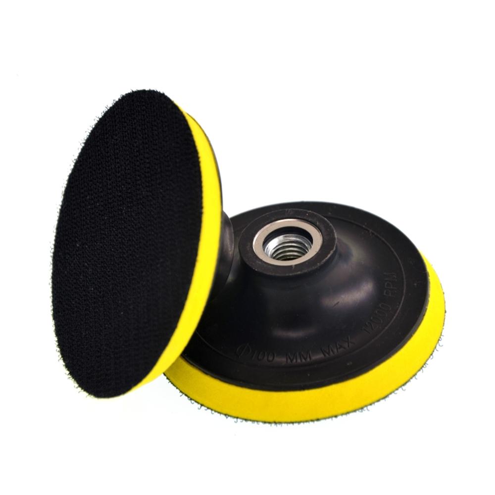 [EU Direct] Wax Polishing Buffing Pad Backing Plate for Hooking Looping Grinding Machine&Flocking Sandpaper&Self-adhesive Wool Ball