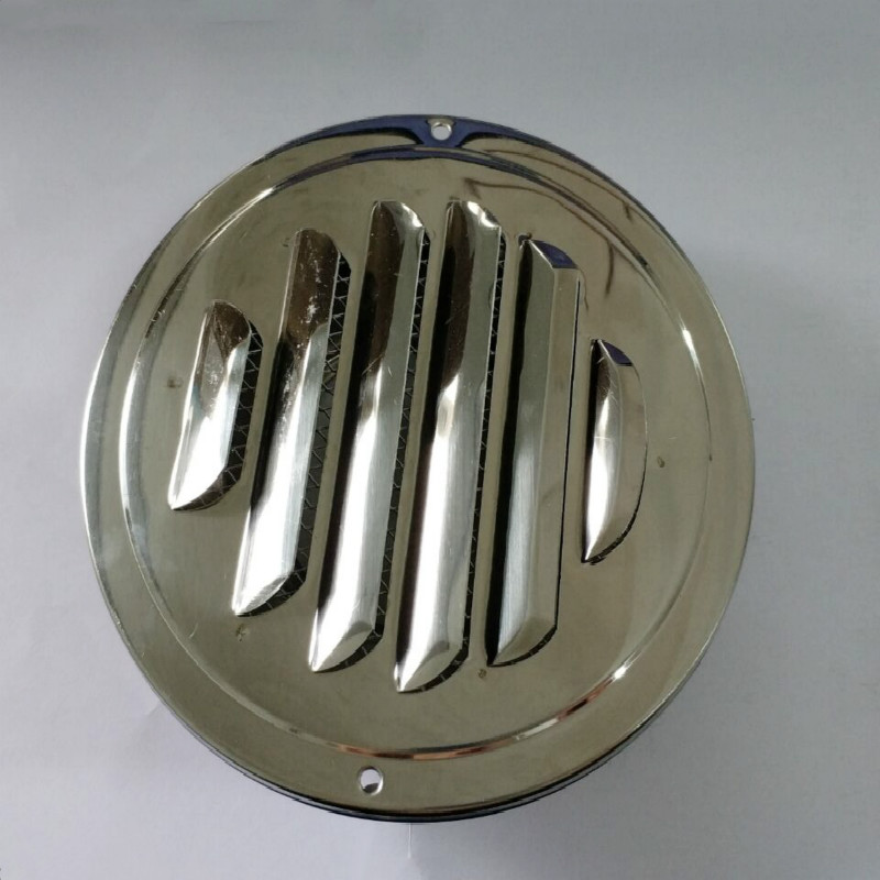 Stainless Steel Louvered Ventilation Cover