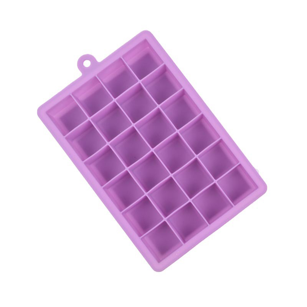 24 Grid Silicone Ice Cube Tray Molds