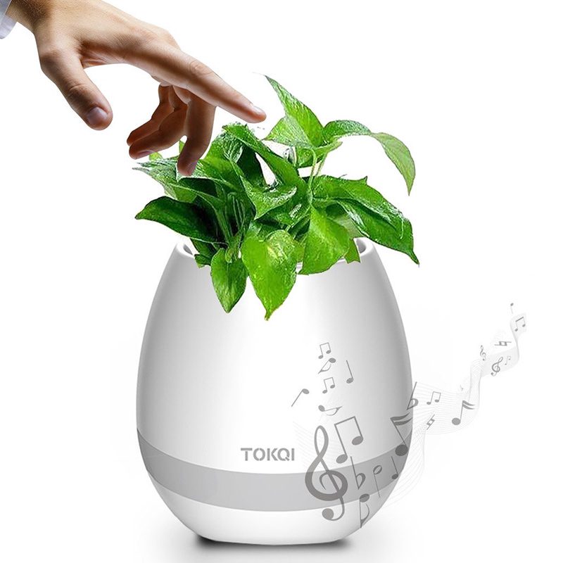 TOKQI Smart Flowerpot Bluetooth Speaker