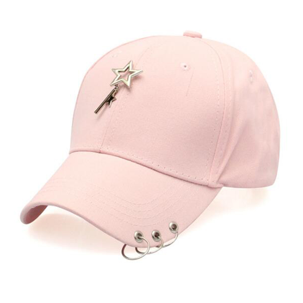 Unisex Adjustable Star Baseball Hat