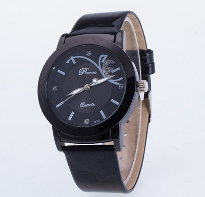 Students Creative Butterfly Quartz Watch with Silicone Watchband Stylish Ornament Gift