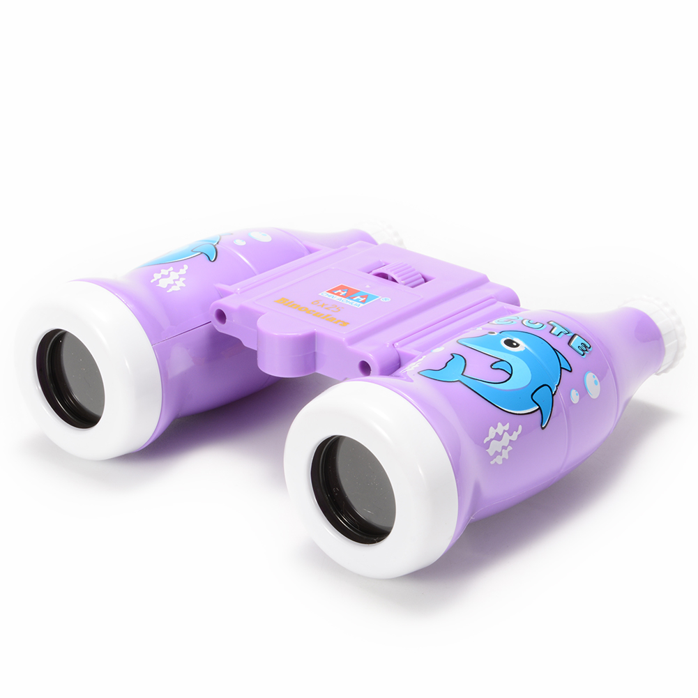 6x25 Cola Bottle Style Binoculars Toy for Kids, Bird Watching, Hiking, Educational Learning, Kids Toy Gift