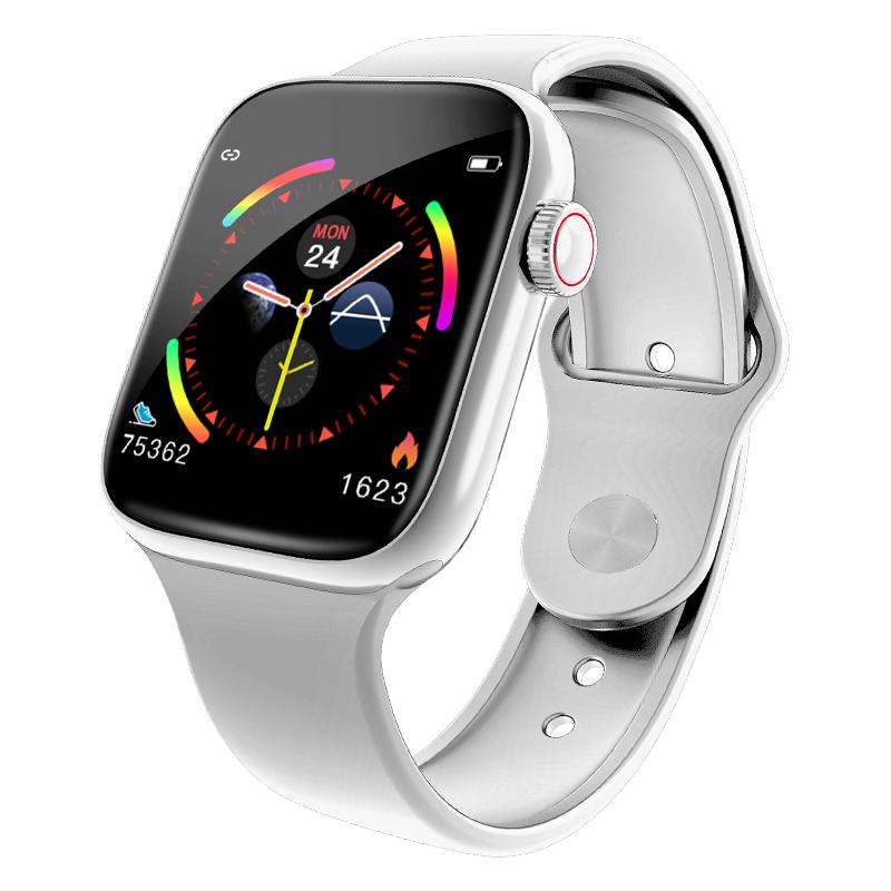 Men Women Bluetooth Smart Watch Music Camera Waterproof Heart Rate Monitoring Smart Bracelet white