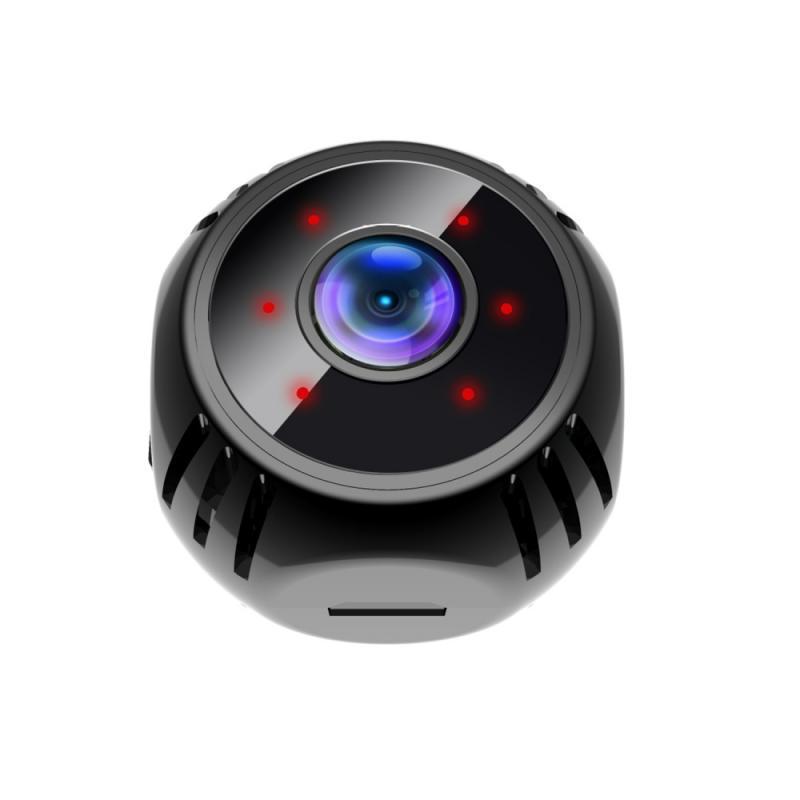 Hd 1080p Mini  Camera Wifi Camera Night Vision Waterproof Shell Sensor Recorder Camcorder Cam Black