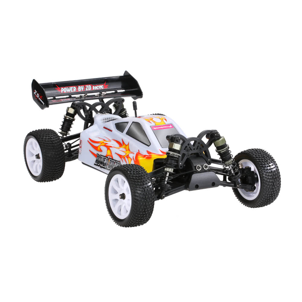 ZD Racing  9102 10421 - S 1/10 Off-road RC 4WD Brush-less Vehicle Children Simulation Car white