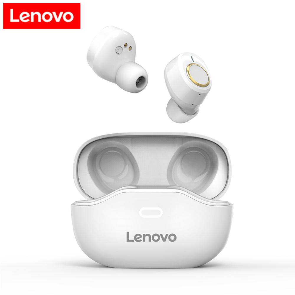 Original LENOVO X18 Tws True Wireless Bluetooth 5.0 Earphones Touch Control Mini Earbuds Sport Handsfree Headset Headphones White