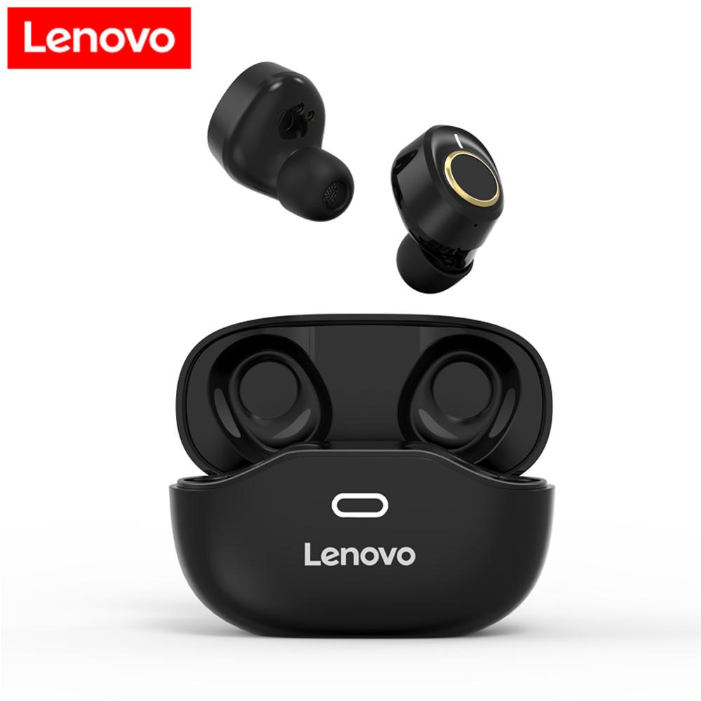 Original LENOVO X18 Tws True Wireless Bluetooth 5.0 Earphones Touch Control Mini Earbuds Sport Handsfree Headset Headphones Black