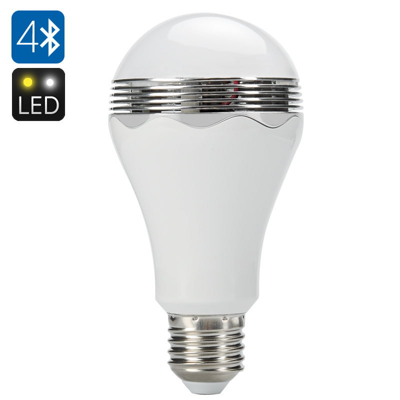 Smart Bluetooth LED Light Bulb + Speaker