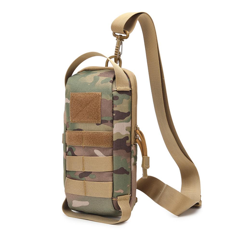 Sling  Shoulder  Bag Sports Outdoor Running Chest Bag Multifunctional Waterproof Belt Waist Pack CP