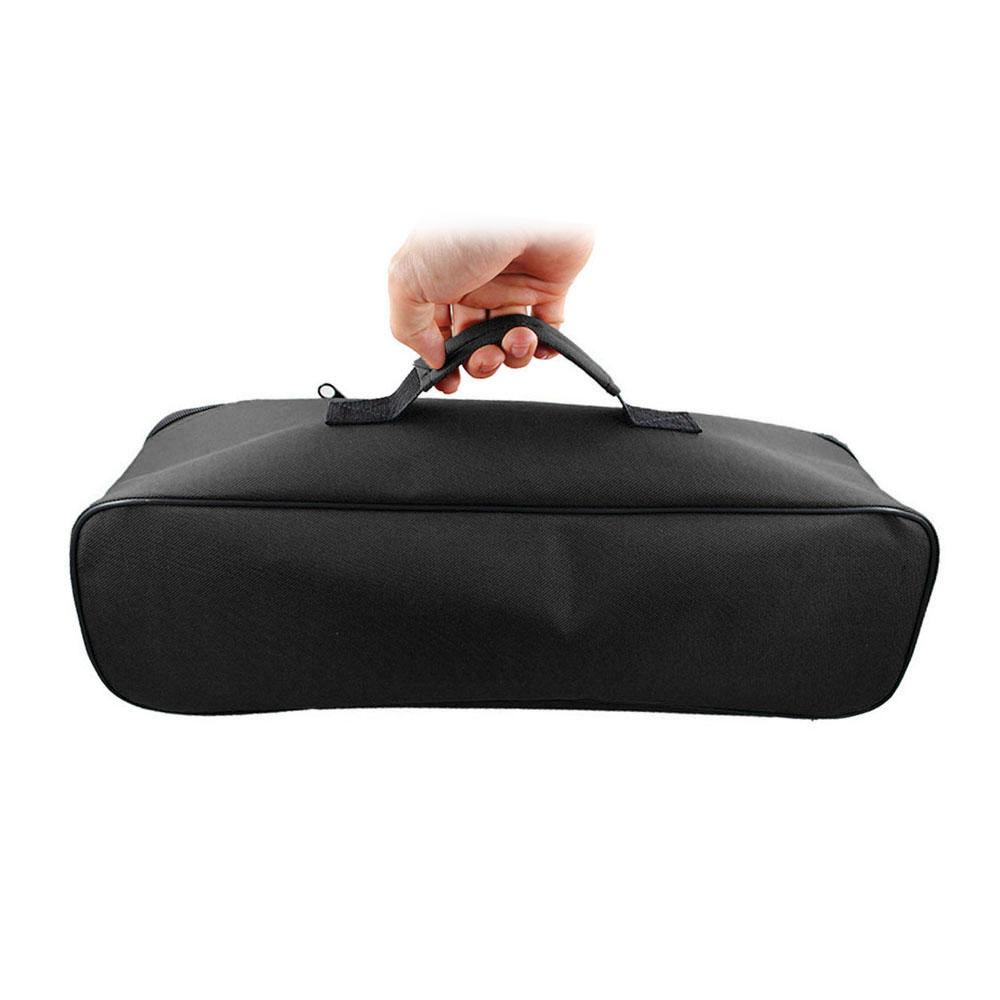 Small Zipper Bag Multi-purpose Tool 600 d Oxford Cloth Pouch Tool Storage Organizer black
