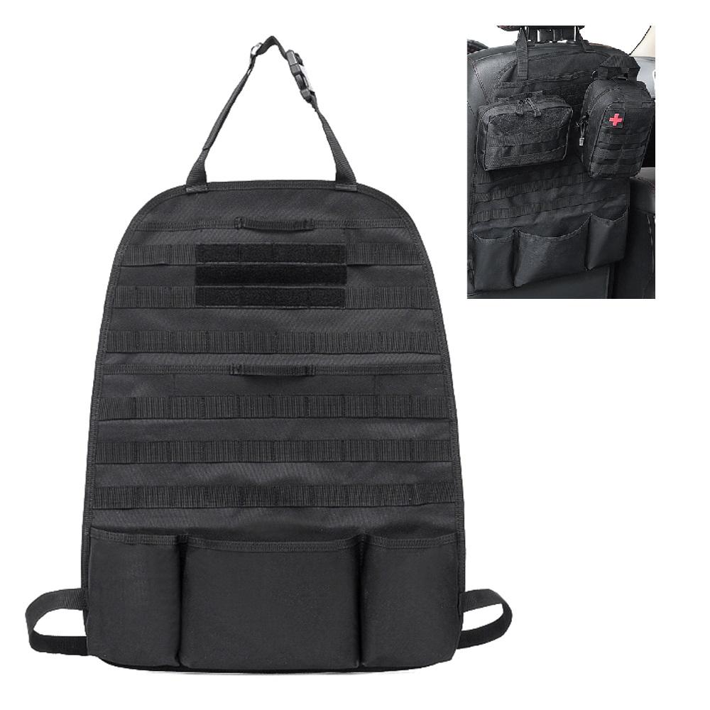 600D Waterproof Visor Organizer Car Chair Back Bag Storage Bags for Kids Children