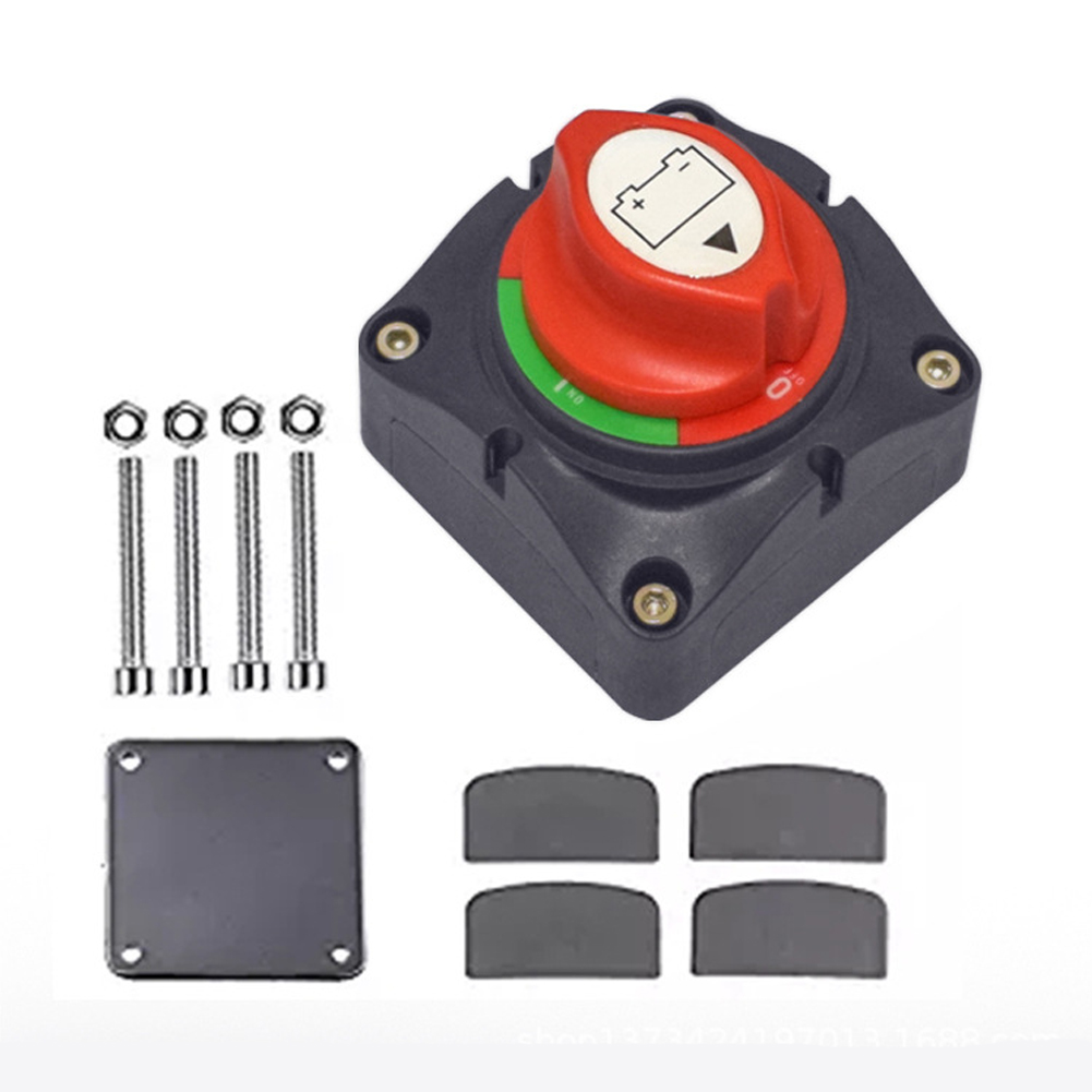 Battery Switch Power Off Switch Battery Power Cut Master Switch Disconnect Isolator Red black
