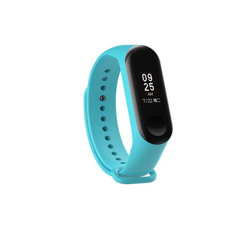 Silicone Wrist Strap Replacement for Xiaomi mi 3 Smart Bracelet Mi3 Accessories Water duck