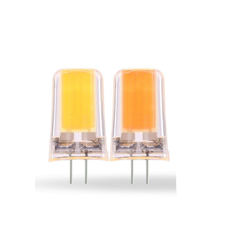 LED Light Bulb 220V 4W/2.5W COB G9 G4 Crystal Lamp Chandelier for Home G4 white light