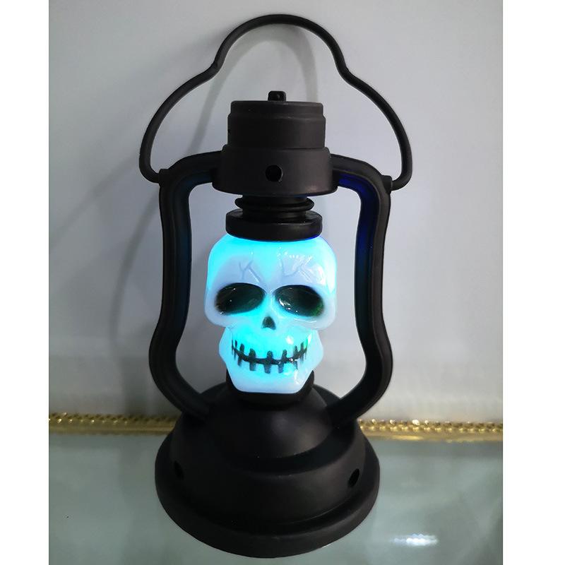 Handheld Kerosene Lamps LED Decorative Night Light for Halloween Party Home Supplies Portable kerosene lamp