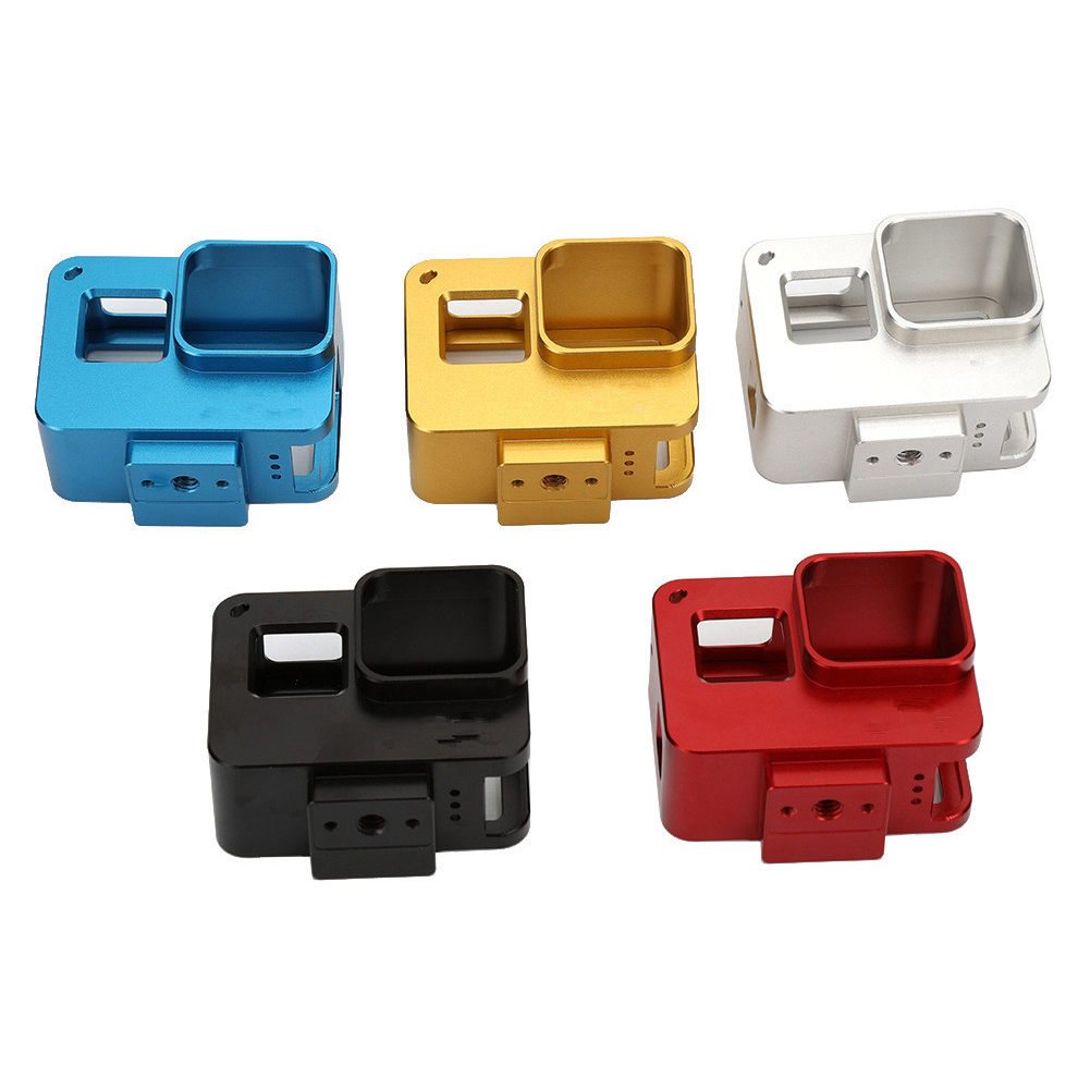 GoPro Protect Frame for Hero 5 Special Aluminum Alloy Camera Protect Frame Silver grey