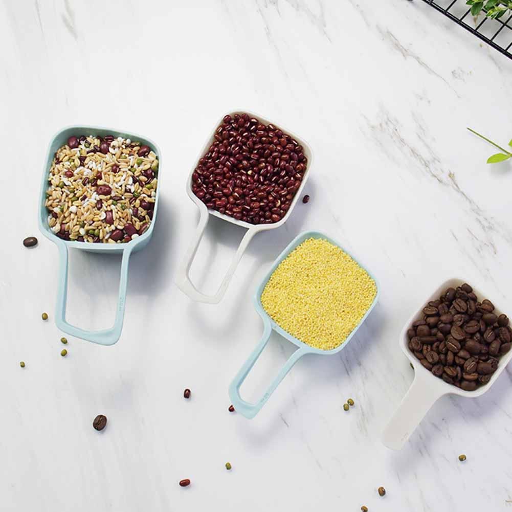 4Pcs/Set Nordic Style Measuring Spoons Useful Kitchen Cake Baking Tools As shown