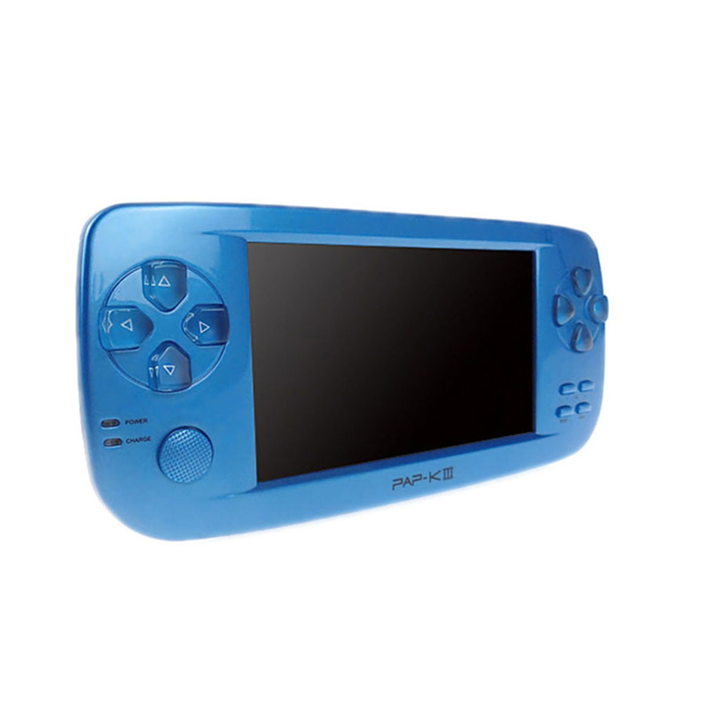 PAP K3 Handheld  Game Console Child Game Console with 64bit 16G Memory blue