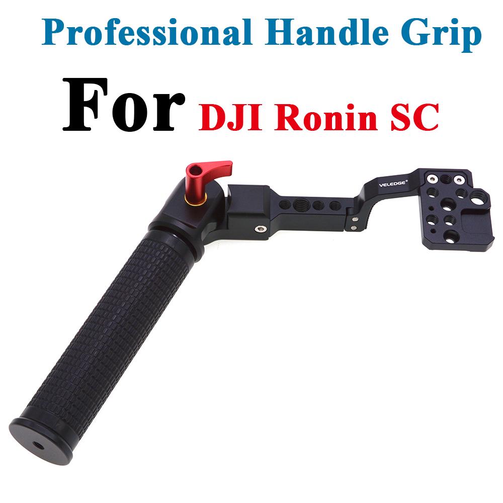 Adjustable Handle Hand Grip for Ronin SC Gimbal black