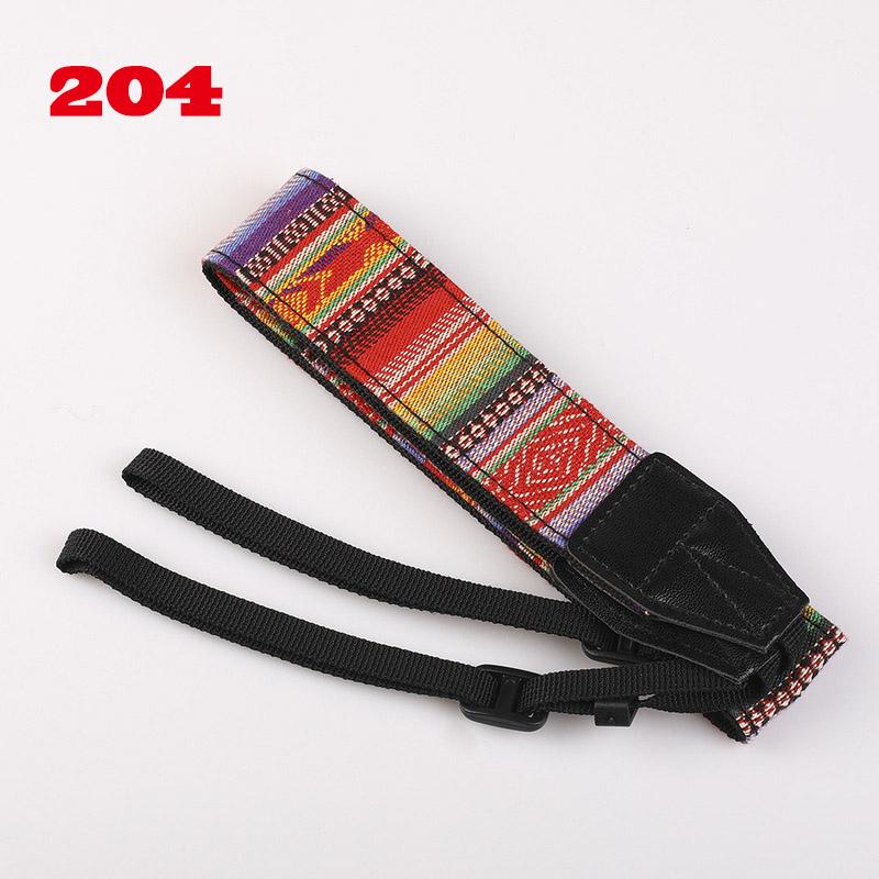 SLR Camera Strap Cloth Micro Single Digital Camera Shoulder Strap Ethnic Style Adjustable