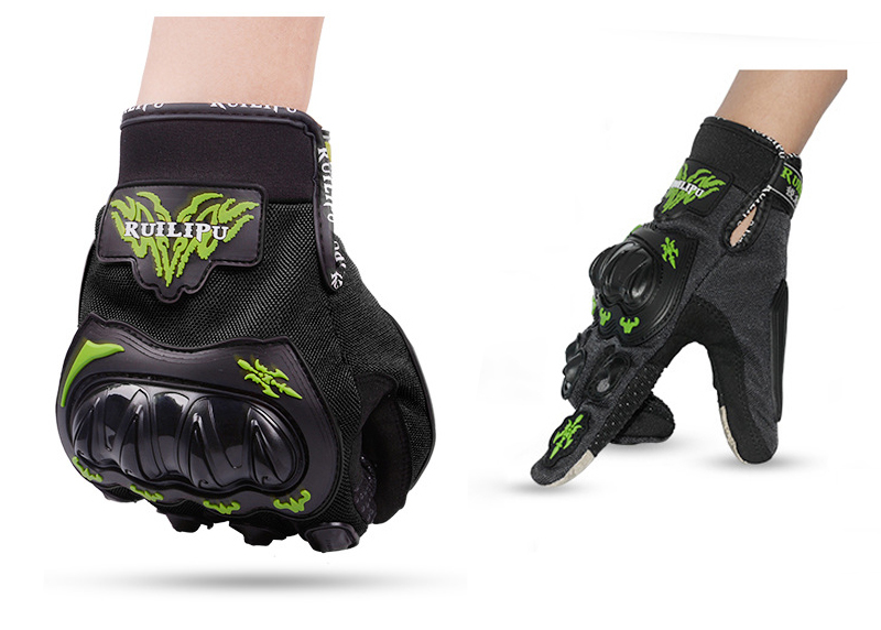 Touch Screen Skiing Riding Gloves Black  L