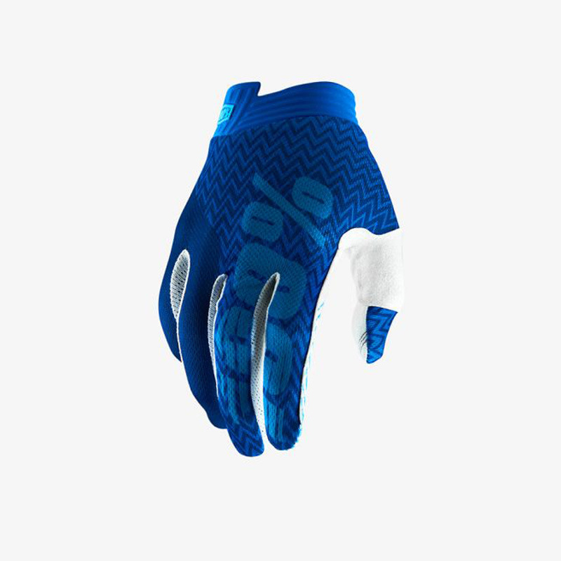 Motorcycle Gloves Mountain Bike Racing Glove Locomotive Delicate Motorsport MTB Bike Motorcycle Gloves Blue word_L